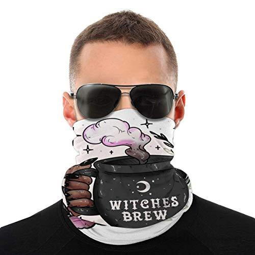 Nother Cauldron Wicca Wicca Hexe Brew Kopfbedeckung Windschutz Schal Gesichtsmaske Waschbar Staubmaske Sturmhaube Halstuch, Doppeldruck