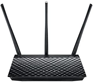 ASUS RT-AC53 AC750 Dual-Band Wi-Fi Router Dashboard and High Power Design