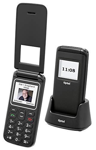 Tiptel 6260, Stylisches Design ohne Vertrag & ohne SIM-Lock