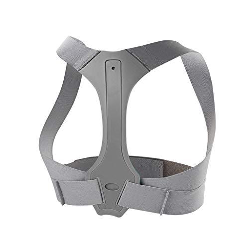 KKCD - Geradehalter Haltungskorrektur Plus verstellbare Rückenschulter Wirbelsäulenstützgurte für Männer Frauen, Haltungskorrektur-Physiotherapie-Klammer für den oberen unteren Rücken/Haltungstraine