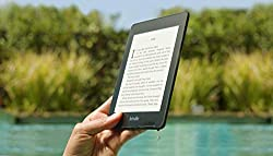 Gifts for authors black kindle e-reader