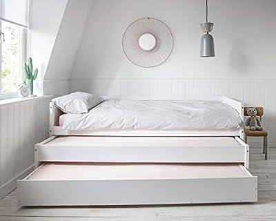 Noa and Nani - Ivan Day Bed Triple Sleeper - (White)