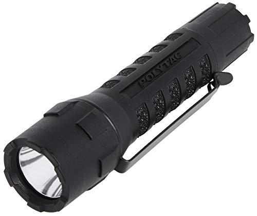 Streamlight 88850 PolyTac LED Flashlight with Lithium Batteries Black  600 Lumens