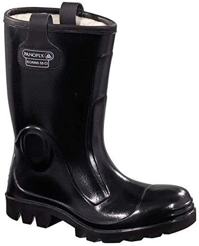 Delta plus botas - Juego bota seguridad ecrins negro talla 39(1 par)
