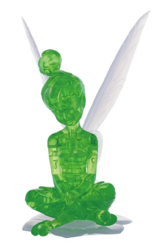 Disney CRYSTAL GALLERY PETIT FRIENDS Tinker Bell 3D Puzzle (Green)
