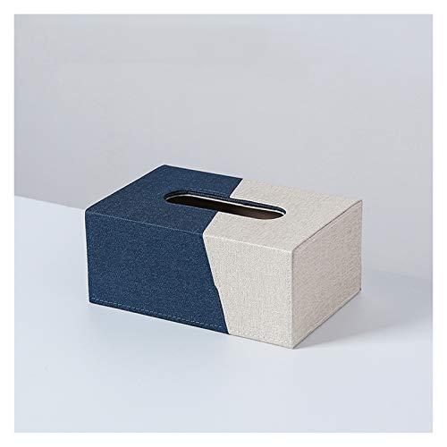 NYKK Caja Pañuelos Caja de dispensadores de Tejido Adecuado para Habitaciones de Varios Estilos Titular de Tejido Limpio Puede ser un Regalo para los Amigos en casa Dispensador Pañuelos