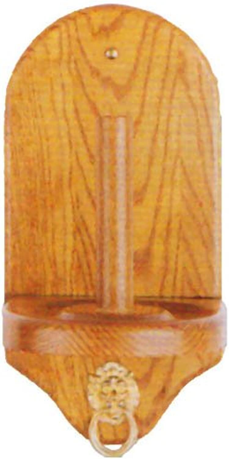 Sterling Gaming Deluxe Cone Chalk Holder, Oak