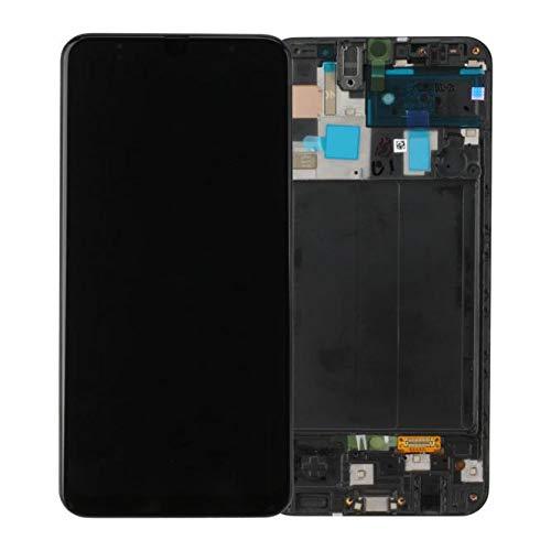 Handyteile24 ✅ Super Amoled Display Bildschirm Digitizer Touchscreen in Schwarz für Samsung Galaxy A50 A505F - GH82-19204A