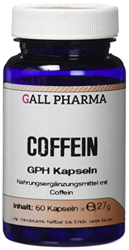 Gall Pharma Coffein GPH Kapseln, 60 Kapseln