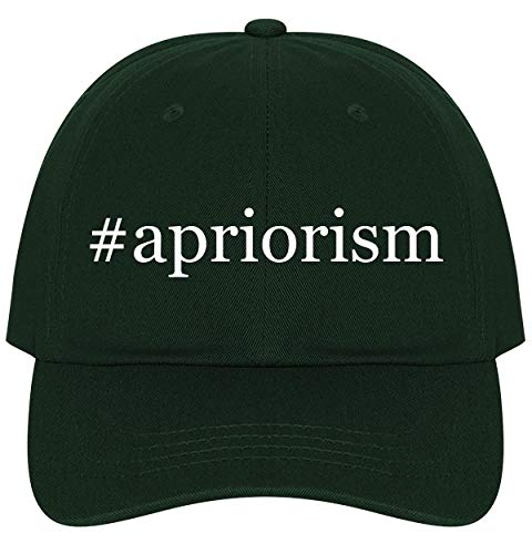 The Town Butler #Apriorism - A Nice Comfortable Adjustable Hashtag Dad Hat Cap, Forest, One Size