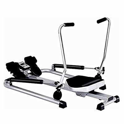 Household Rowing Machine, Hydraulic Rowing Machine, Indoor Multi-Function Sports and Fitness Equipment, All-Round Exercise, Hands, Legs, and Waist. Specifications (L W H) [115 90 66Cm]