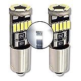 MCK Auto - Sostituzione per LED CanBus H6W Set di lampadine bianche molto chiare e senza errori F20 F30
