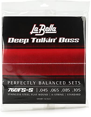 La Bella 760FS-S Deep Talkin' Bass Flatwound Bass Strings - Standard Short Scale
