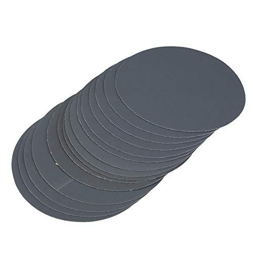 15 stücke Schleifscheibe Runde Schleifpapier 180# 400# 1500# 5000# 10000# Sand Sand Polierpapier Pad 5 zoll(1500#)