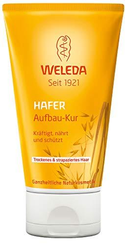 WELEDA Hafer Aufbau-Kur, intensive Haarpflege für strapaziertes und trockenes Haar, die Spülung kräftigt, nährt und schützt und baut das Haar auf (1 x 150 ml)