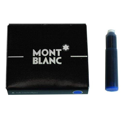 Montblanc Tintenpatrone königsblau Packung 6 Stück