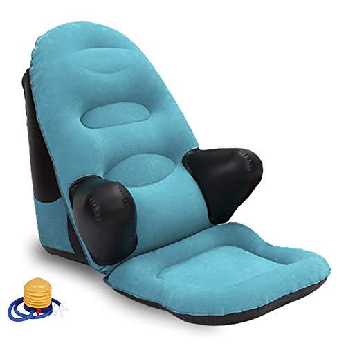 WEYFLY - Cuscino lombare portatile, ergonomico, per lettura, lettura, lettura, giochi e relax