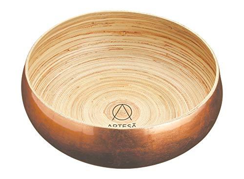 Artes脿 Large Wooden Fruit Bowl/Serving Bowl