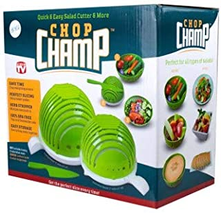 Chop Champ Set of Two Salad Cutter with Knife
