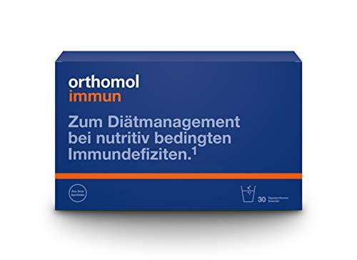 Orthomol immun 30er Granulat - Vitamine & Spurenelemente für die Abwehrkräfte - Unterstützung für das Immunsystem