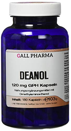 Gall Pharma Deanol 120 mg GPH , 180 Kapseln