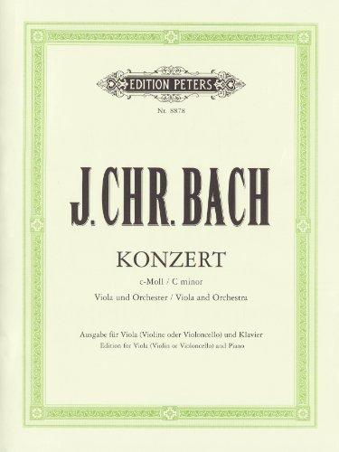 Konzert für Viola und Orchester c-Moll: Ausgabe für Viola [Violine/Violoncello] und Klavier