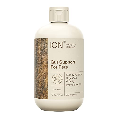 ION Intelligence of Nature Gut Support for Pets   Strengthens Digestion, Supports Kidneys, Aids Immune Function, and Defends from Food Toxins   16oz.