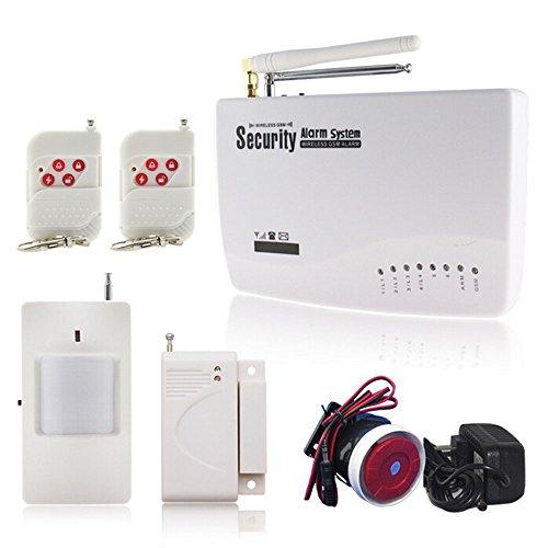 NEW Wireless Wired GSM Sim casa antifurto sistema di allarme GSM di sicurezza allarme vocale Prompt sensore kit