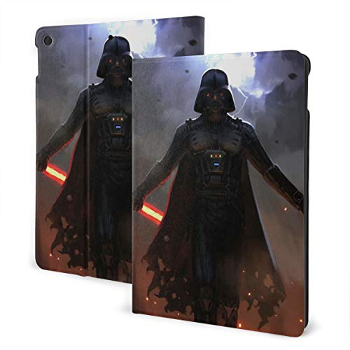 Star Wars Case Fit Tablet IPad 7th 10.2' with Auto Sleep/Wake Ultra Slim Lightweight Stand Leather Case