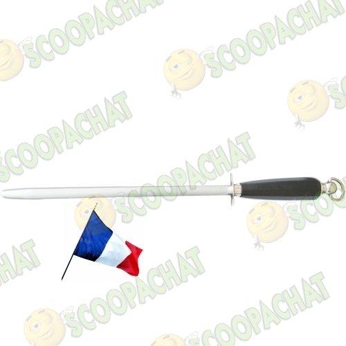 Fusil aiguiseur de couteaux rond 44 cm fabrication Thiers