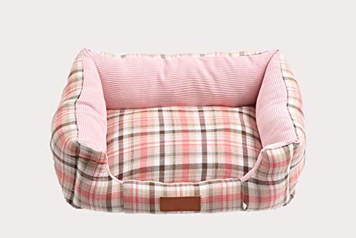 No brand Creative Blue thermoskan kattenkat Che Dorme bed zacht en comfortabel kussen super zacht warm kat puppy voor huisdieren 58 x 48 x 18 cm, 43x33x15cm, Roze.