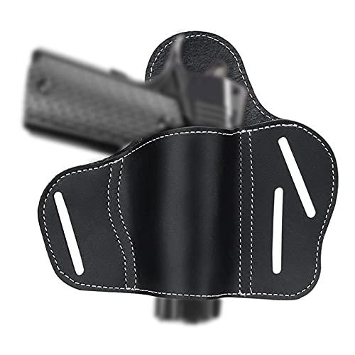 GY Funda de Caza Funda de Cuero OWB para Pistola Kimber Colt 1911 Remington Ruger Funda para cinturón