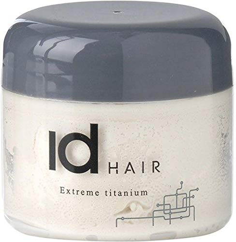 IdHAIR Titanium - Mega Strong Hair Wax, 1er Pack (1 x 100 ml)