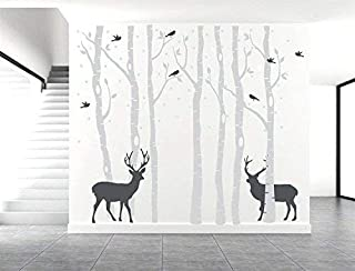 Best grey tree wall sticker Reviews