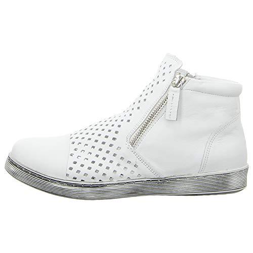 Andrea Conti Damen 0349615 Sneaker, weiß, 38 EU