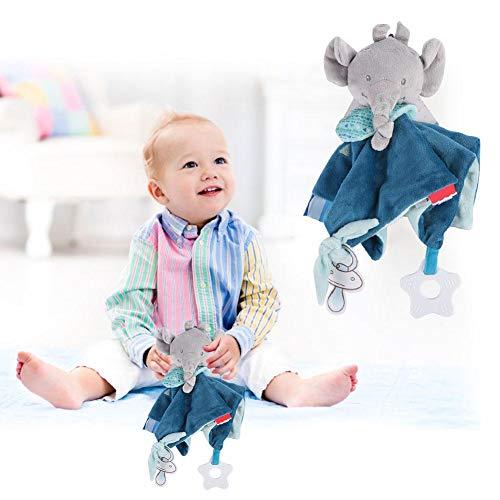 Baby kalmeert babyhanddoek Baby baby kalmeert kalmeren handdoek Zachte pluche troostende speelgoedhanddoek(1)