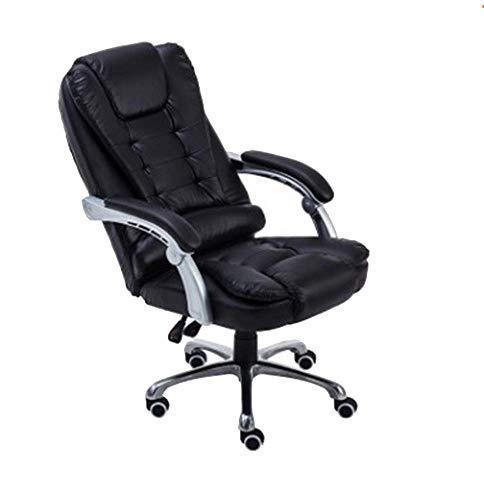 SMX bureaustoel, draaibaar, met rugleuning en rugleuning, massagefunctie, bureaustoel, kunstleer