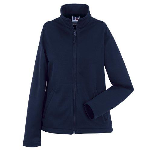 Russell Damen Smart Softshell-Jacke (XL) (Dunkelblau)