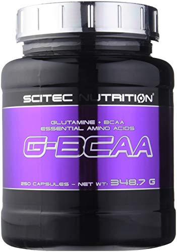 Scitec Nutrition G-BCAA acide aminé 250 capsules