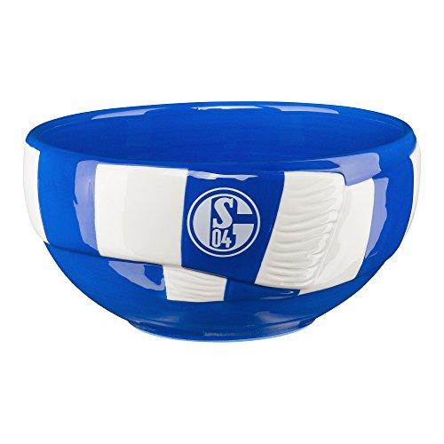 FC Schalke 04 Schale / Müslischale / Knabberei Schale / Picknick-Schale in Schal Optik S04
