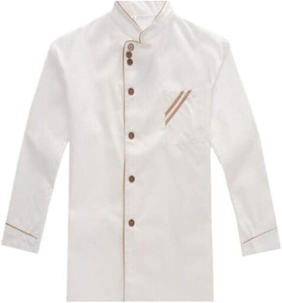 Toporchid Food Max 43% OFF trust Service Cloth Kitchen Jackets S Chef Uniform Long