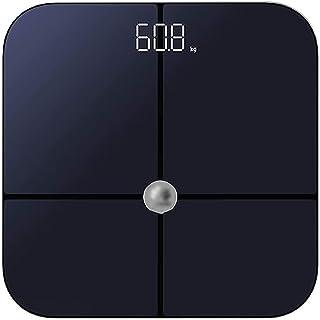 KSDCDF Digitale lichaamsgewicht badkamerschaal met stap-op technologie, 400 lb