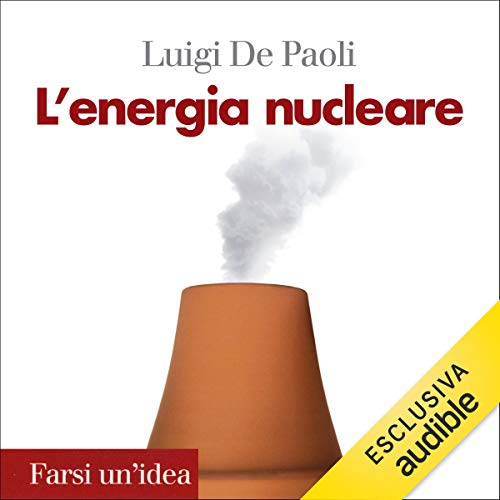 L'energia nucleare audiobook cover art