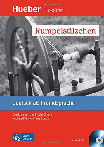 Rumpelstilzchen: Drei Märchen der Brüder Grimm nacherzählt von Franz Specht.Deutsch als Fremdsprache / Leseheft mit Audio-CD (Leichte Literatur)