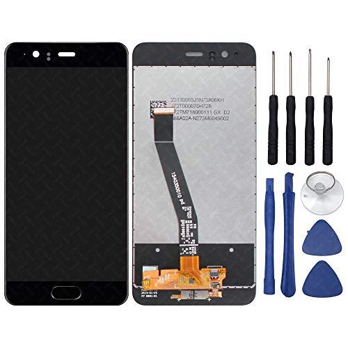 FTDLCD® 5,1 Zoll LCD Touch Screen Digitizer Scheibe Ersatz Display Einheit Bildschirm Assembly Reparatur für Huawei P10 + Werkzeug (Schwarz)
