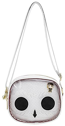 Harry Potter Pop by Loungefly - Hedwig Pin Trader Femme Sac à Main Multicolore, Imitation Cuir,