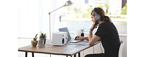 ソニーコンパクトオーディオシステムCAS-1:Bluetooth/ハイレゾ対応ヘッドホンアンプ搭載ホワイトCAS-1W
