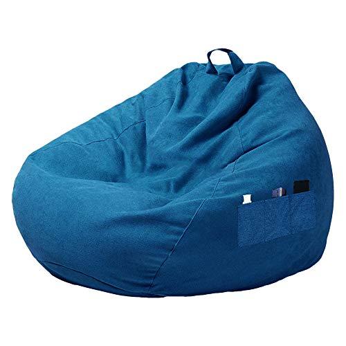 You's Auto - Pouf per divano, senza imbottitura, con tre tasche laterali, per la camera da letto, 3 misure