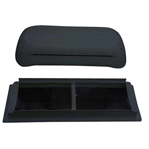 DOMETIC 3311236.024 Refrigerator Complete Vent Kit - Black