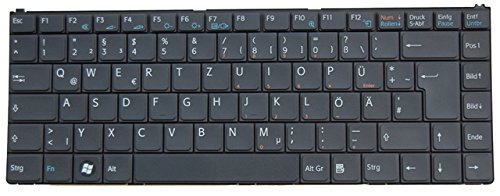 Sony Original Tastatur Vaio PCG-7X1M Serie DE Neu Schwarz